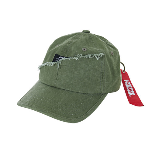 [바잘] Military type-2 damage ballcap khaki