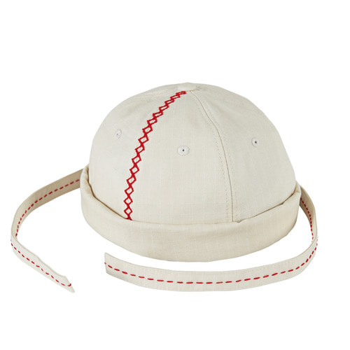 [바잘] Short bini style ballcap part.1 cream
