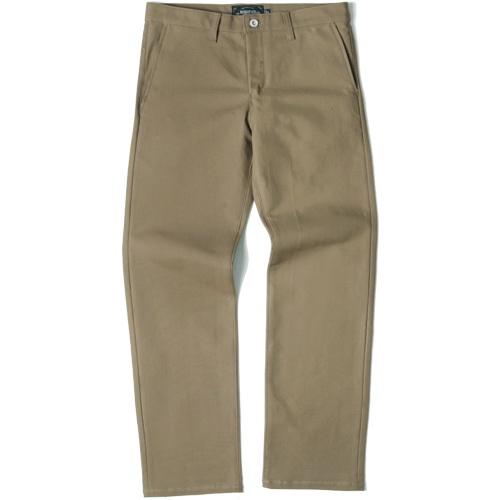 [모디파이드]M#1437 520G slim wide fit cotton pants (beige)