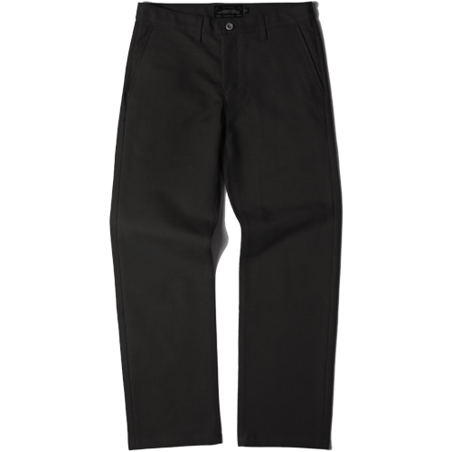 [모디파이드]M#1436 520G slim wide fit cotton pants (black)