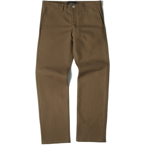 [모디파이드]M#1438 520G slim wide fit cotton pants (brown)