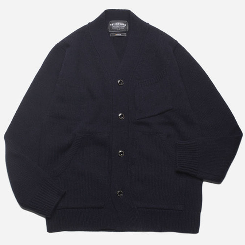 [프리즘웍스]Fatigue pocket cardigan _ navy