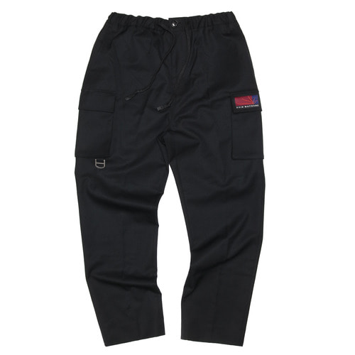[두인마땡] UTILITY TAILORED PANTS (Black)