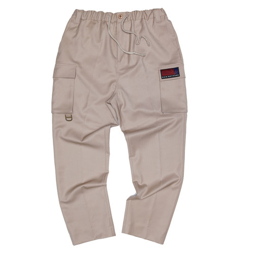 [두인마땡] UTILITY TAILORED PANTS (Beige)