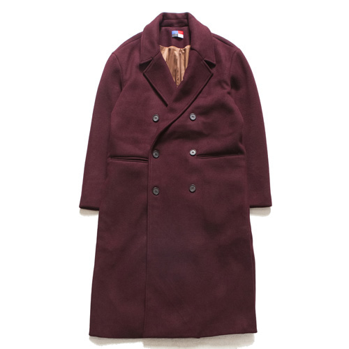 [아워히스토리]Dubble Long Coat_Wine