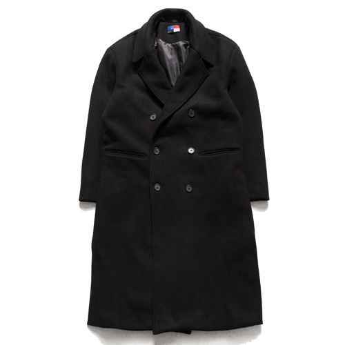 [아워히스토리]Dubble Long Coat_Black
