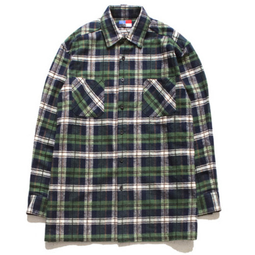 [아워히스토리]Oversize Chk Nb_Green
