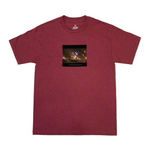 [아이즈 스케이트]City Night Tee - Burgundy