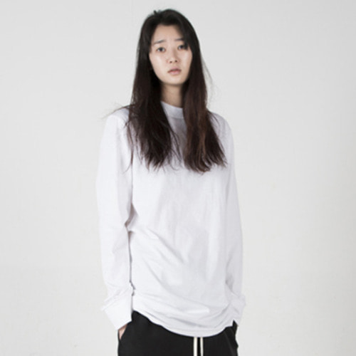 [뉴트럴] Reversed neck long sleeve shirts