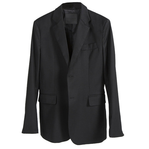 [뉴트럴] Black wool blazer