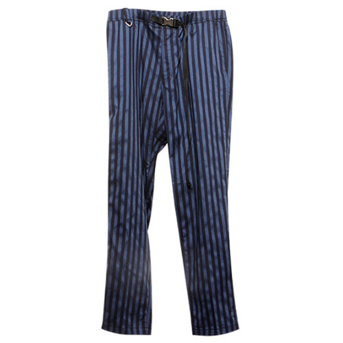 [뉴트럴] Striped pants with buckle