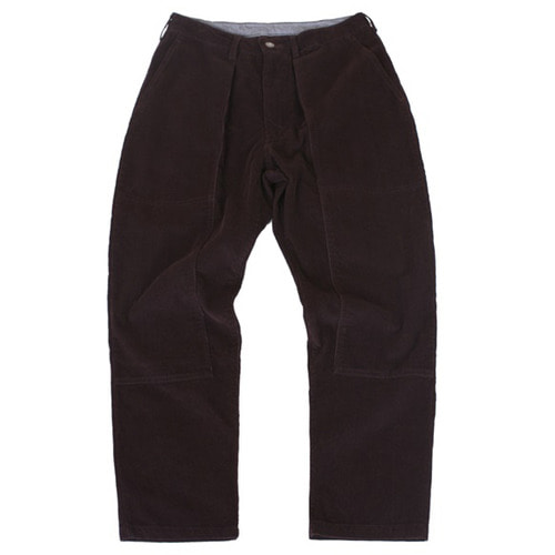 [스웰맙]Swellmob double knee tuck pants -burgundy-