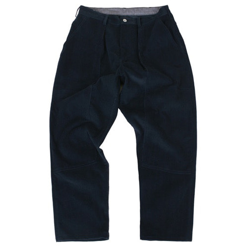 [스웰맙]Swellmob double knee tuck pants -navy-