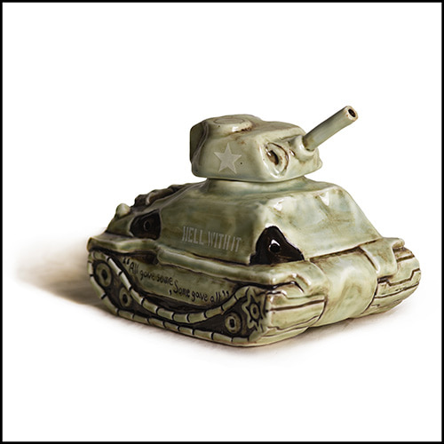 "[노메뉴얼]NM X QH ""M4NM Sherman tank"" incense chamber"
