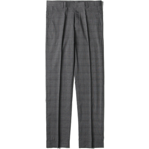 [모디파이드]M#1429 glen check slim tapered fit slacks