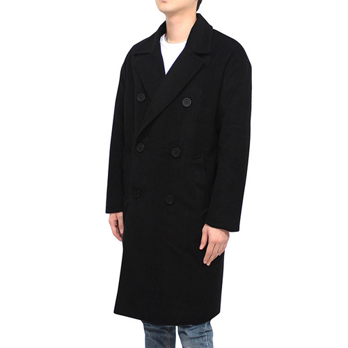 [클라코] COMFY DOUBLE COAT (BLACK)