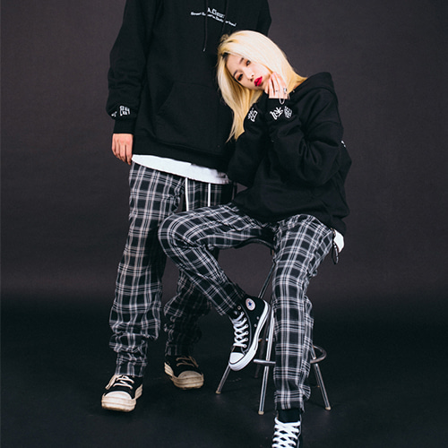 [30%][에이클라운]Side-Tag Flannel Pants