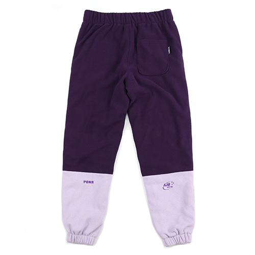 [아조바이아조] Fleece Jogger Pants [Purple]