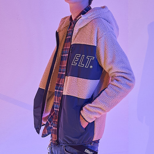 [엘리오티] Ellioti Fleece Zip-up_Beige