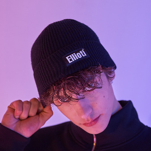 [엘리오티] Ellioti Wool Watch Cap_Black