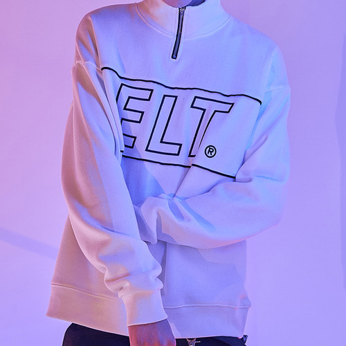[엘리오티] ELT Anorak Sweat_White