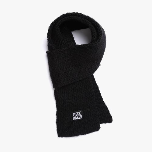 [피스메이커]FISHERMAN MUFFLER (BLACK)