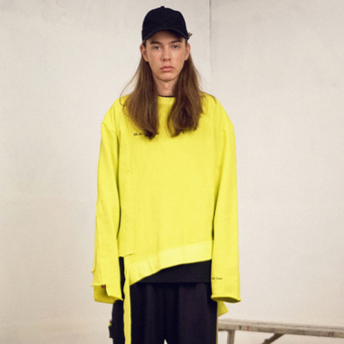 [블락스 요하닉스][reorder] VERY BUSY SWEAT SHIRT NEON