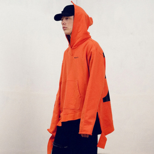 [블락스 요하닉스][reorder] VERY BUSY HOODIE ORANGE