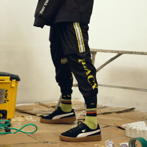 [블락스 요하닉스]VERY BUSY2 LINE JOGGER PANTS