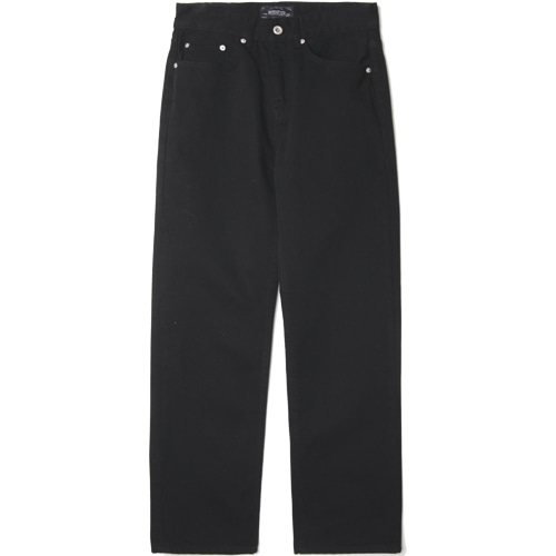[모디파이드]M#1479 black semi-wide jeans