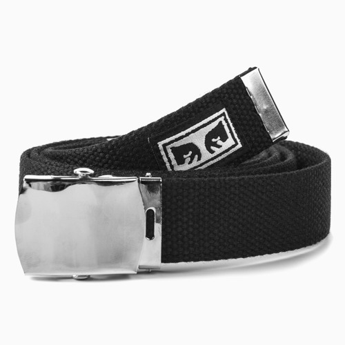 [오베이]BIG BOY WEB BELT - BLACK 벨트