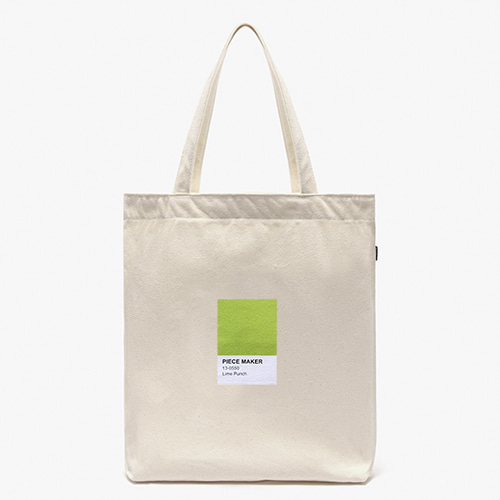 [피스메이커]COLORS ECO BAG (LIME)