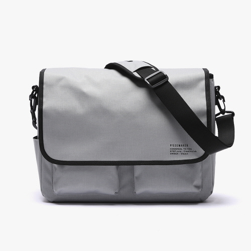 [피스메이커]SSC MAIL MESSENGER BAG (MELANGE GREY)