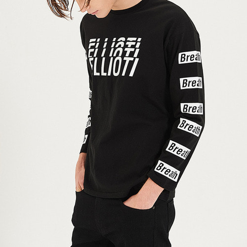 [엘리오티] Ellioti Breath L/S_Black