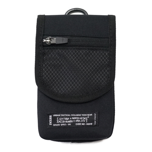 [아임낫어휴먼비잉][18SS] IMXHB TACTICAL POUCH - BLACK