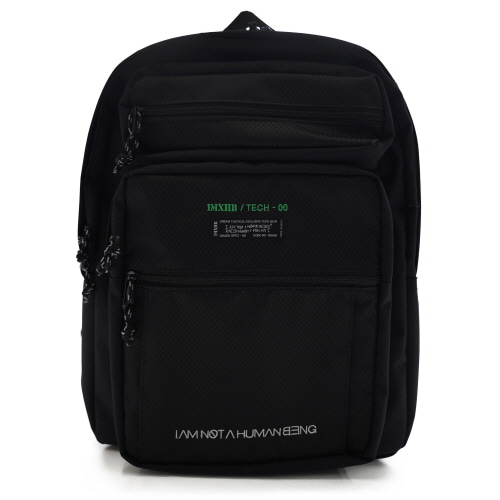 [아임낫어휴먼비잉][18SS] IMXHB TECH PACK-0 - BLACK