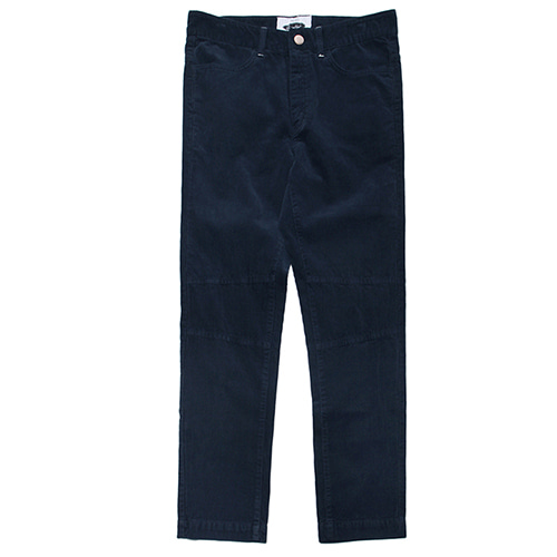 [콰이어티스트]11's Corduroy Basic Fatigue Pants NAVY