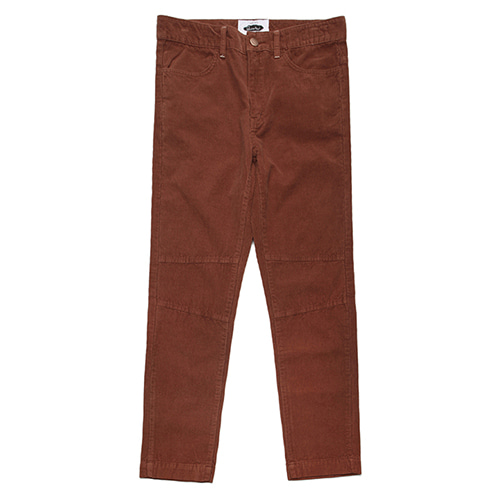 [콰이어티스트]11's Corduroy Basic Fatigue Pants BROWN