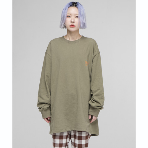 [아워히스토리]OHST Long Sleeve T-shirt_Khaki