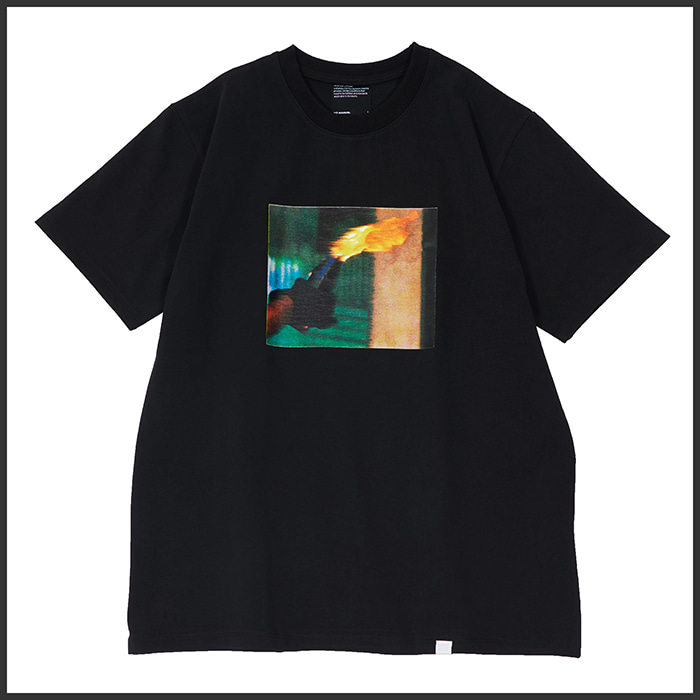 [노매뉴얼]MOLOTOV COCKTAIL T-SHIRT - BLACK