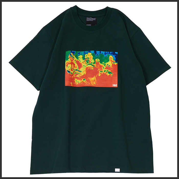 [노매뉴얼]THERMOGRAPHY T-SHIRT - GREEN