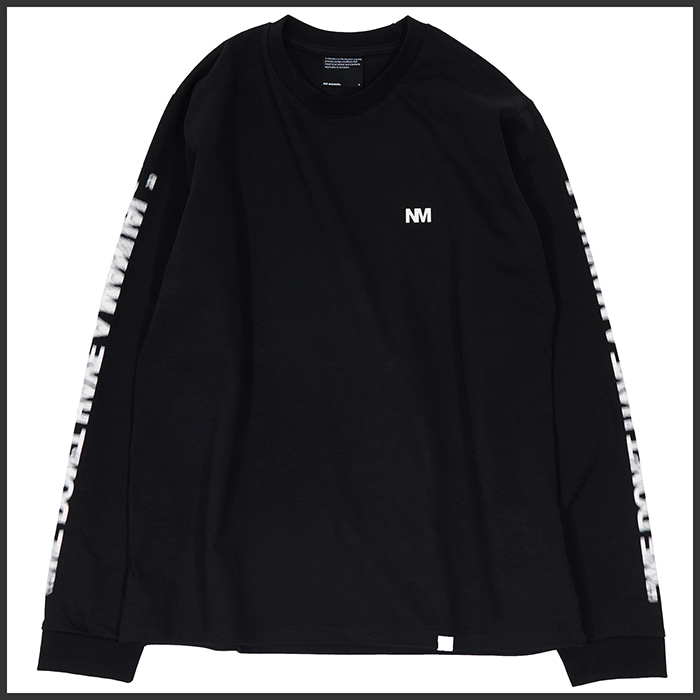 [노매뉴얼]NM MOTION LONG SLEEVE TEE - BLACK