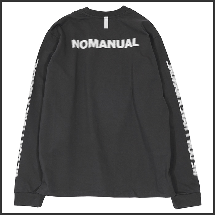[노매뉴얼]NM MOTION LONG SLEEVE TEE - GREY