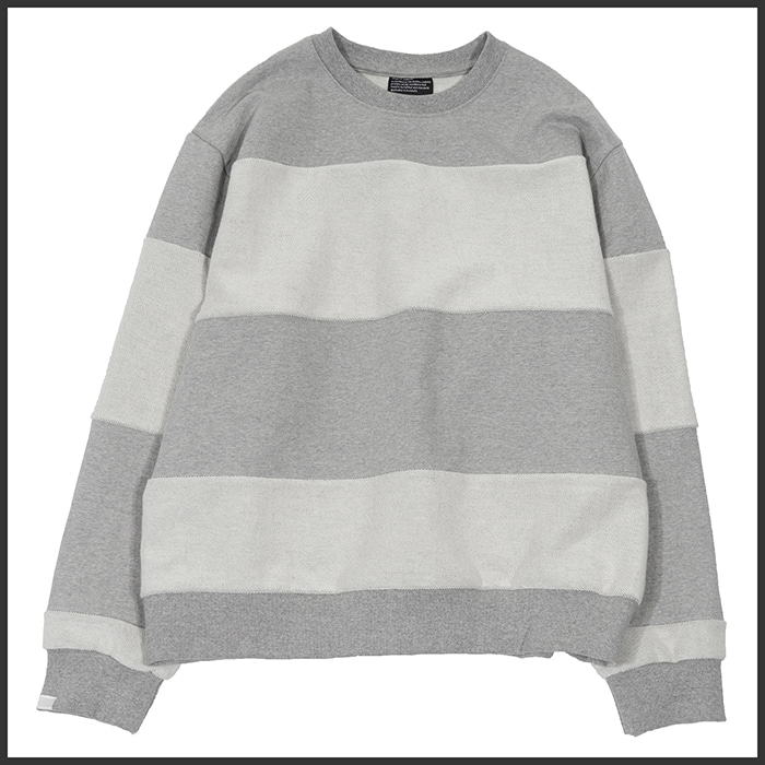 [노매뉴얼]IN&OUT SWEATSHIRT - GREY
