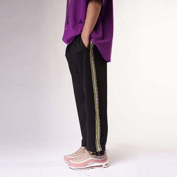 [블락스 요하닉스][REORDER]VERY BUSY2 LINE TRANK PANTS