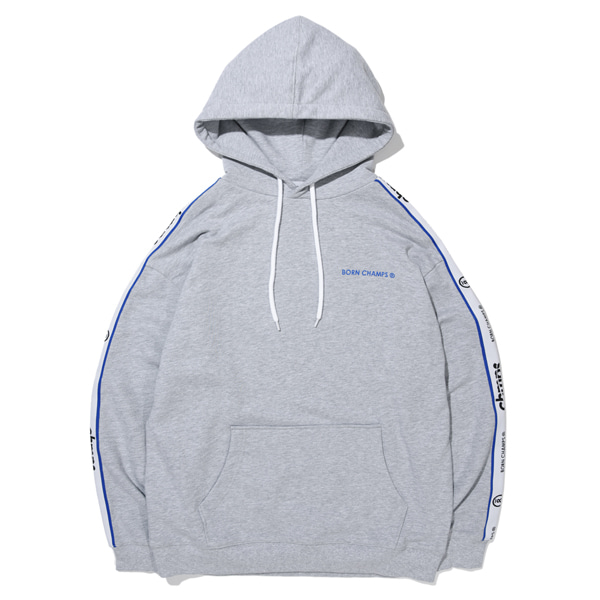 [본챔스]BC NEW TAPE LOGO HOODY GREY CERAMHD02GY