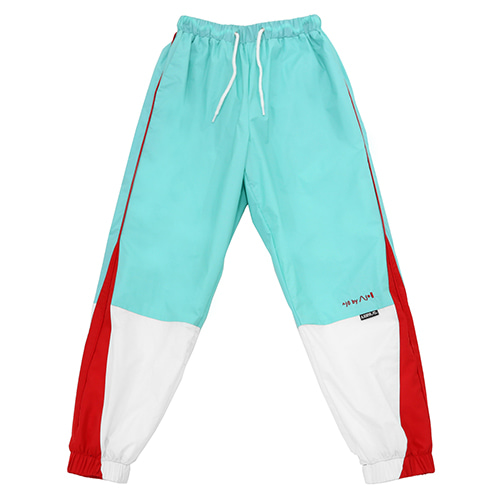 [아조바이아조]tri color jogger pants mint