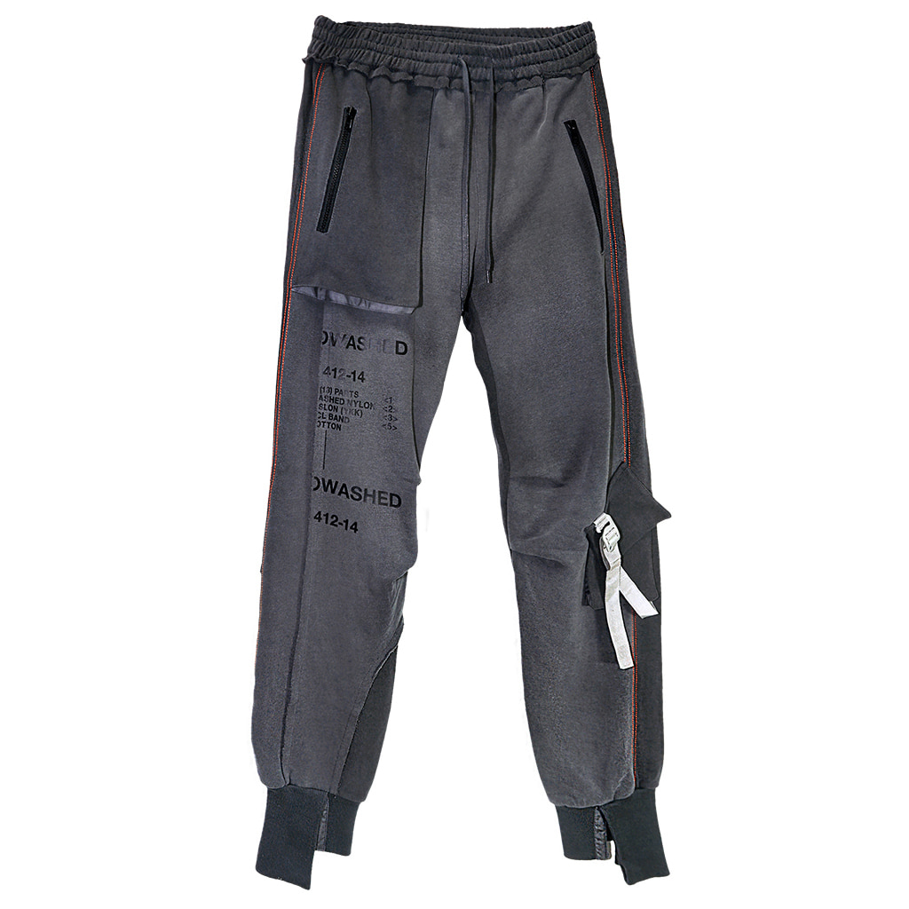 [엠피큐]BIOWASHED_SIGNATURE POCKET JOGGER PANTS