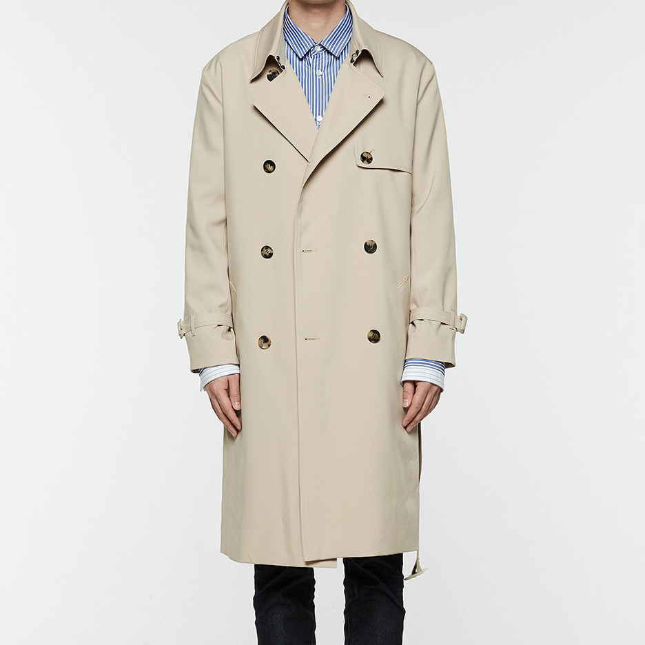 [오엑스스튜디오]18ss New Trench Coat (Beige)