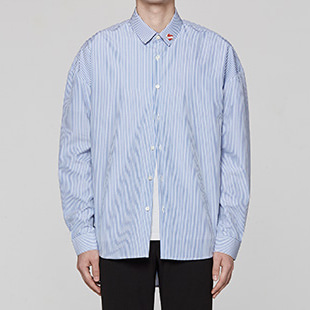 [오엑스스튜디오]Oversize Shirts (Stripe) - NO PIN